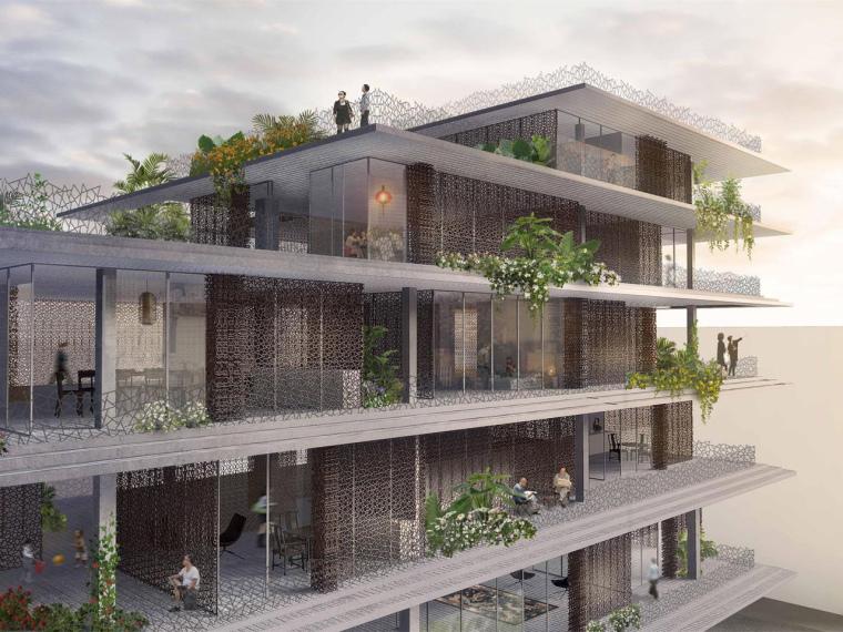 瑞昌花台绿色社区方案设计
