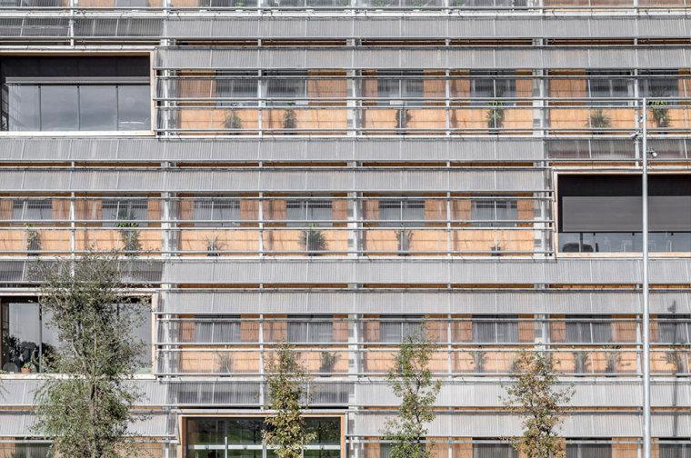 西班牙ICTA-ICP科研大楼外部局部-西班牙ICTA-ICP科研大楼第5张图片
