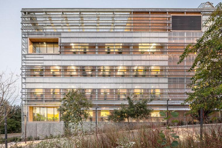 西班牙ICTA-ICP科研大楼外部实景-西班牙ICTA-ICP科研大楼第3张图片