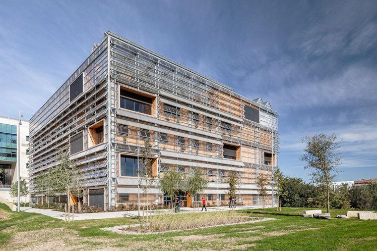 西班牙ICTA-ICP科研大楼外部实景-西班牙ICTA-ICP科研大楼第2张图片