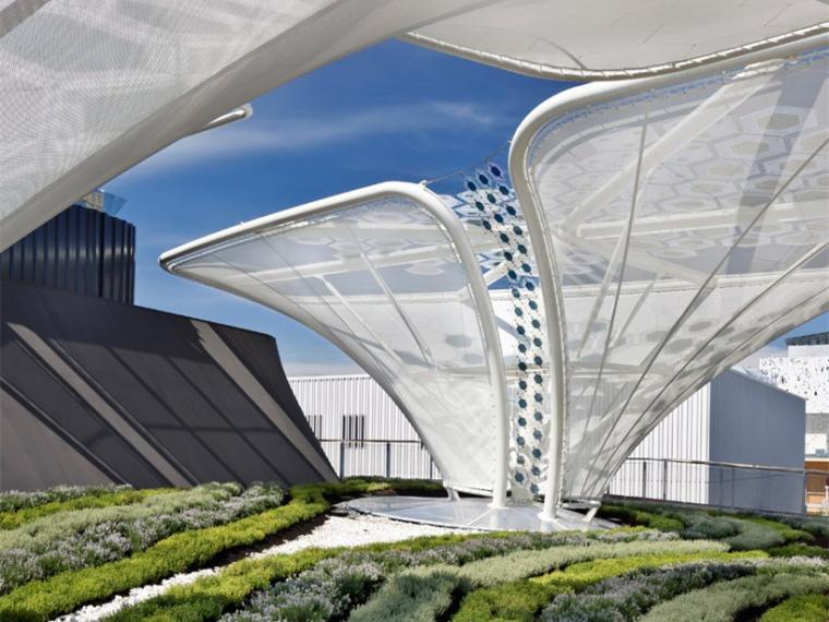 意大利米兰世博会德国馆太阳能装置