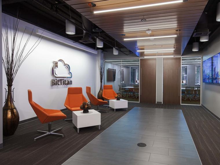 优雅BitTitan新办公室