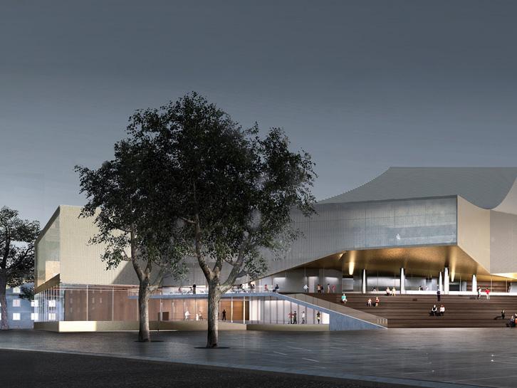 德国巴登国家剧院改建