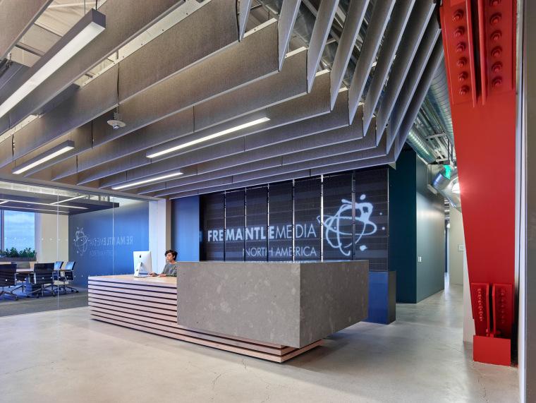 美国佛里曼特尔传媒公司北美办公室