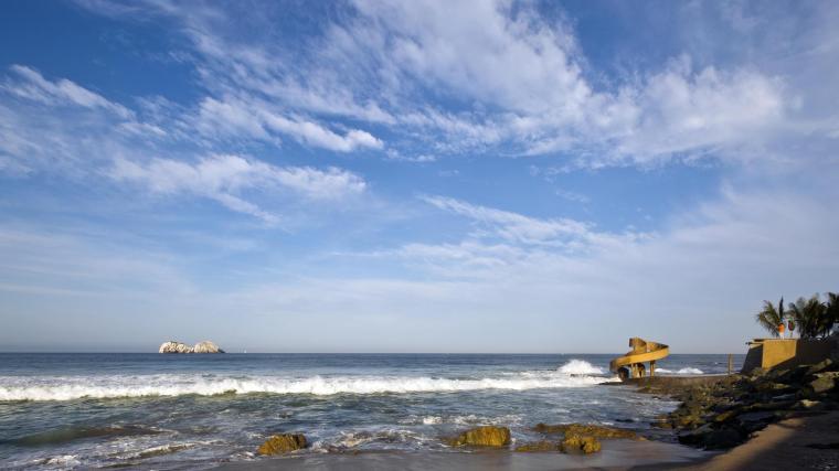 墨西哥Carpa Olivera海滩社交中心-墨西哥Carpa Olivera海滩社交中心第3张图片