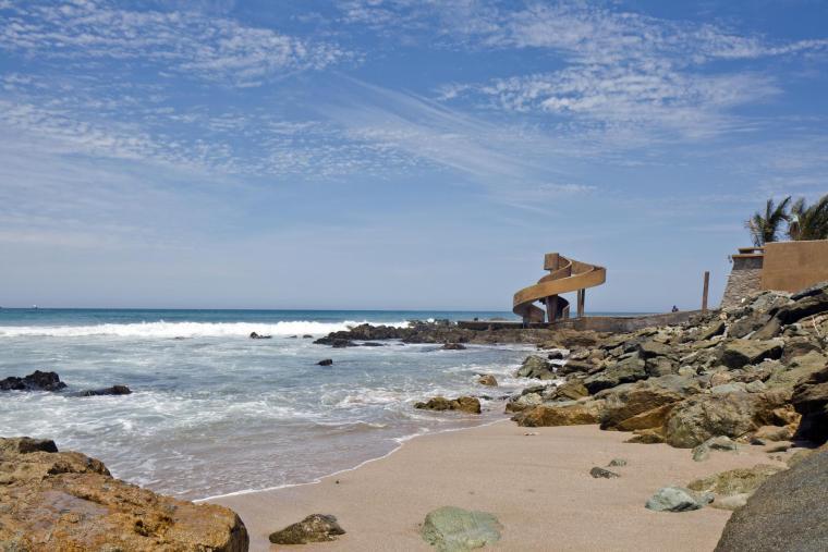 墨西哥Carpa Olivera海滩社交中心-墨西哥Carpa Olivera海滩社交中心第5张图片