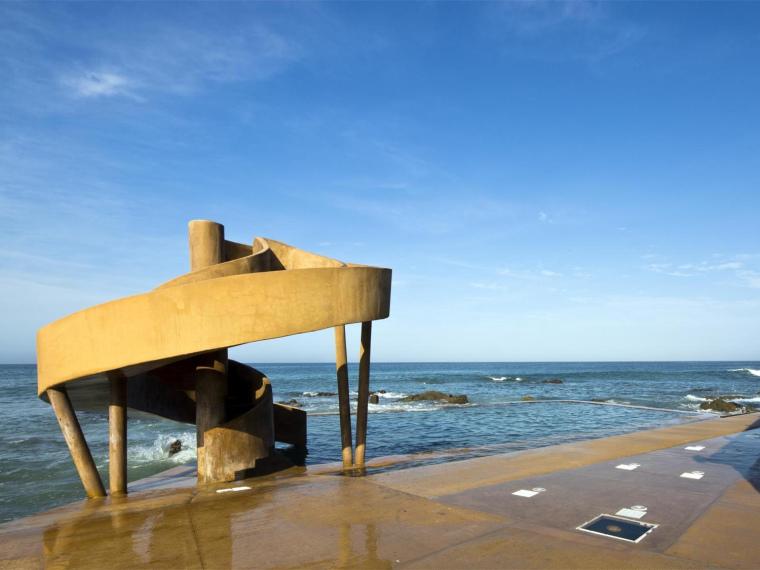 墨西哥Carpa Olivera海滩社交中心第1张图片