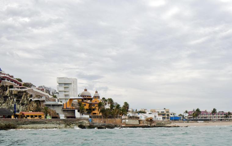 墨西哥Carpa Olivera海滩社交中心-墨西哥Carpa Olivera海滩社交中心第2张图片