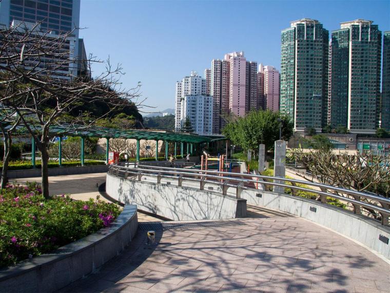 香港九龙美孚站荔枝角公园