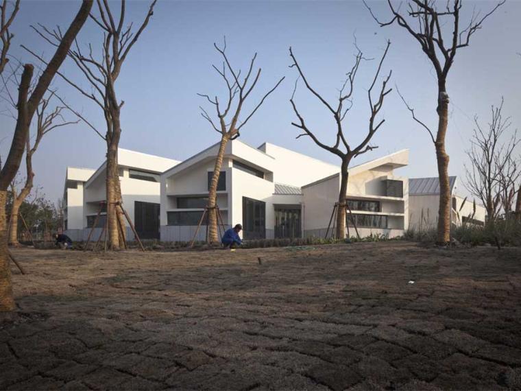 上海嘉定新城远香湖公园服务中心