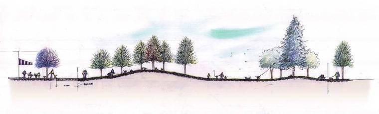 日本丝路花语公园景观效果图-日本丝路花语公园景观第9张图片