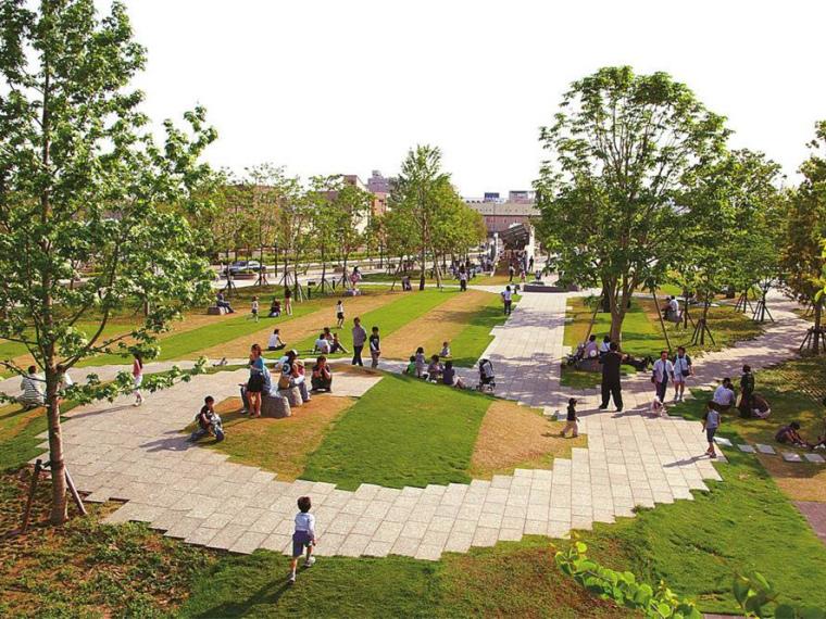 日本丝路花语公园景观第1张图片