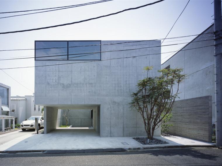 日本东京灰色别墅