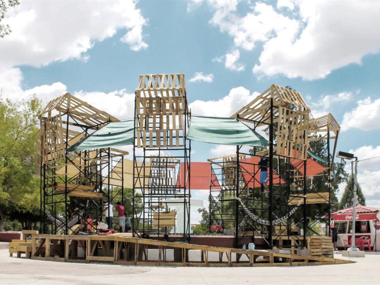 Vessel城市装置资料下载-墨西哥城市温泉