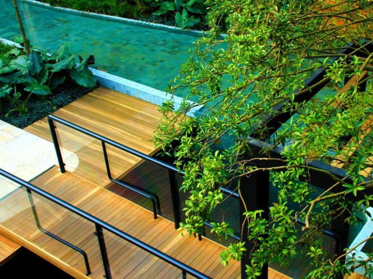巴西热带垂直花园景观