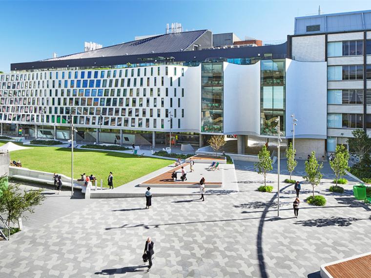 澳大利亚科技大学校园绿地