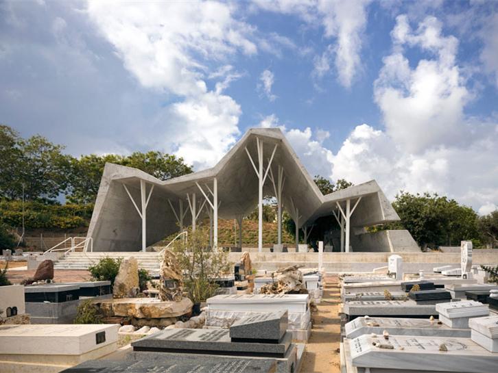 以色列公墓凉亭