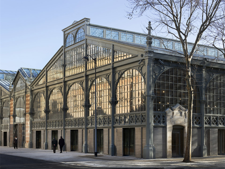 法国圣殿市场改造