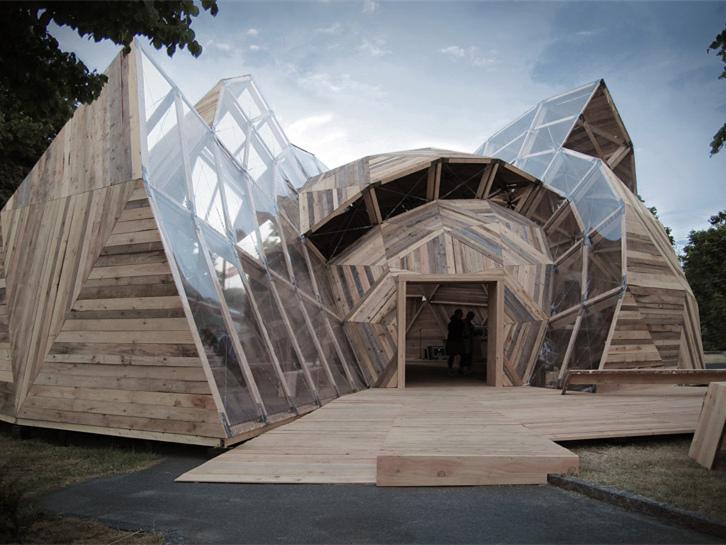 丹麦集会亭建筑