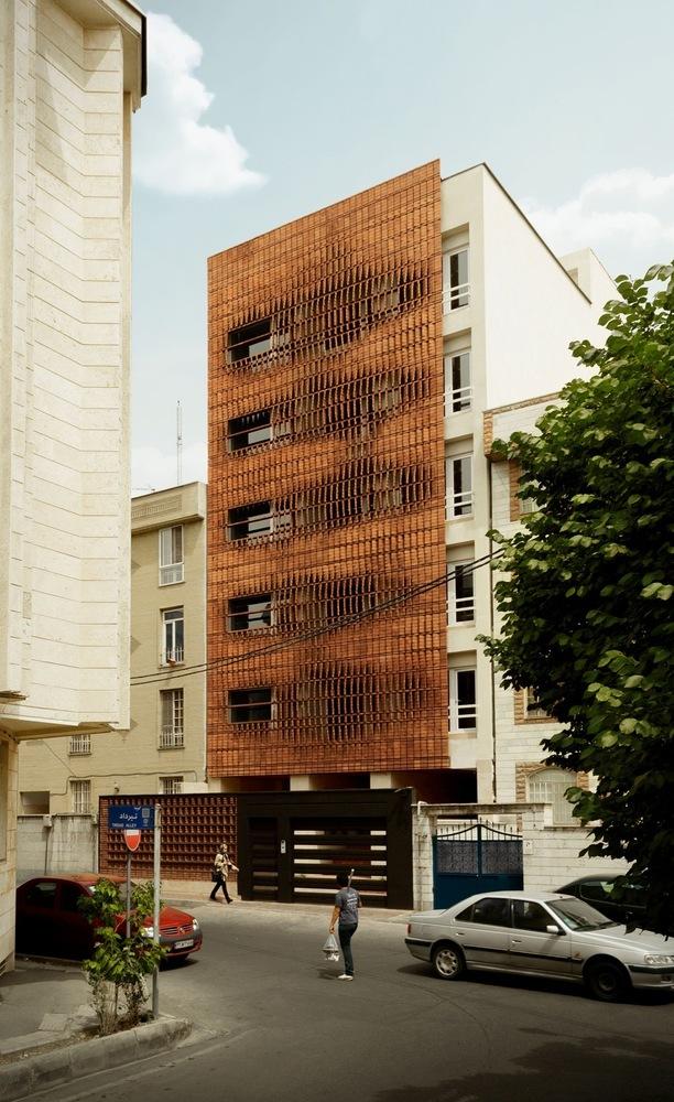 伊朗德黑兰砖楼