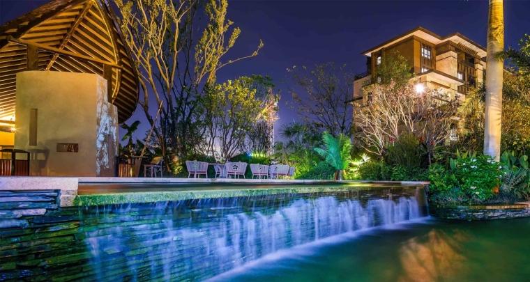 南京世茂▪君望墅住宅景观外部夜-南京世茂▪君望墅住宅景观第8张图片