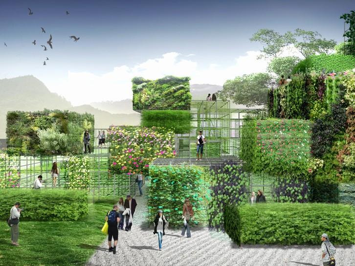 福建室外绿色艺术空间