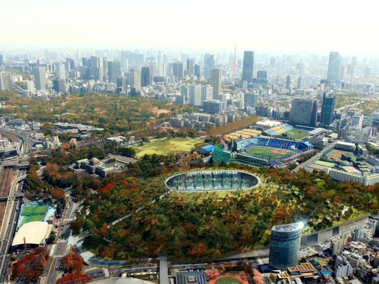 2020日本奥运会主体育场
