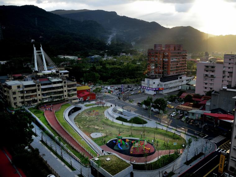 台湾深坑区儿童游乐场