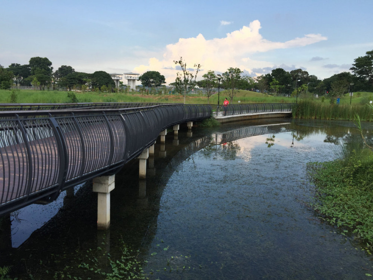 新加坡双溪布洛湿地公园