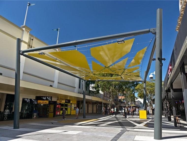 澳大利亚Brunswick商业街景观