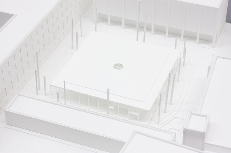 德国建筑艺术学校工作室景观改造-德国建筑艺术学校工作室景观改造第4张图片