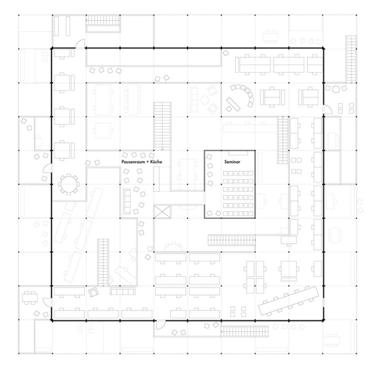 德国建筑艺术学校工作室景观改造-德国建筑艺术学校工作室景观改造第6张图片