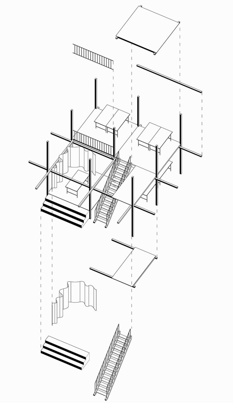 德国建筑艺术学校工作室景观改造-德国建筑艺术学校工作室景观改造第8张图片