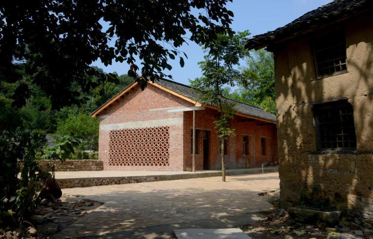 信阳粮油博物馆及村民活动中心外-信阳粮油博物馆及村民活动中心第4张图片