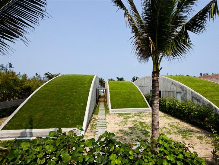 越南绿色波浪别墅