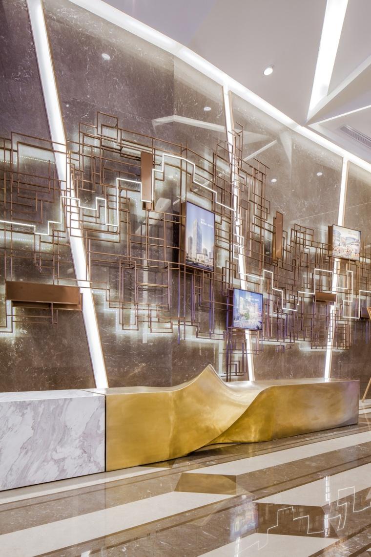 上海龙湖北城天街售楼处室内实景-上海龙湖北城天街售楼处第2张图片