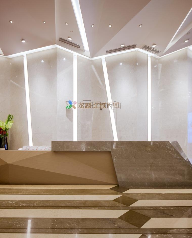 上海龙湖北城天街售楼处室内实景-上海龙湖北城天街售楼处第3张图片