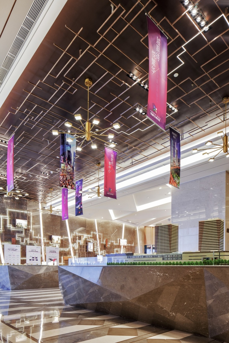 上海龙湖北城天街售楼处室内实景-上海龙湖北城天街售楼处第4张图片