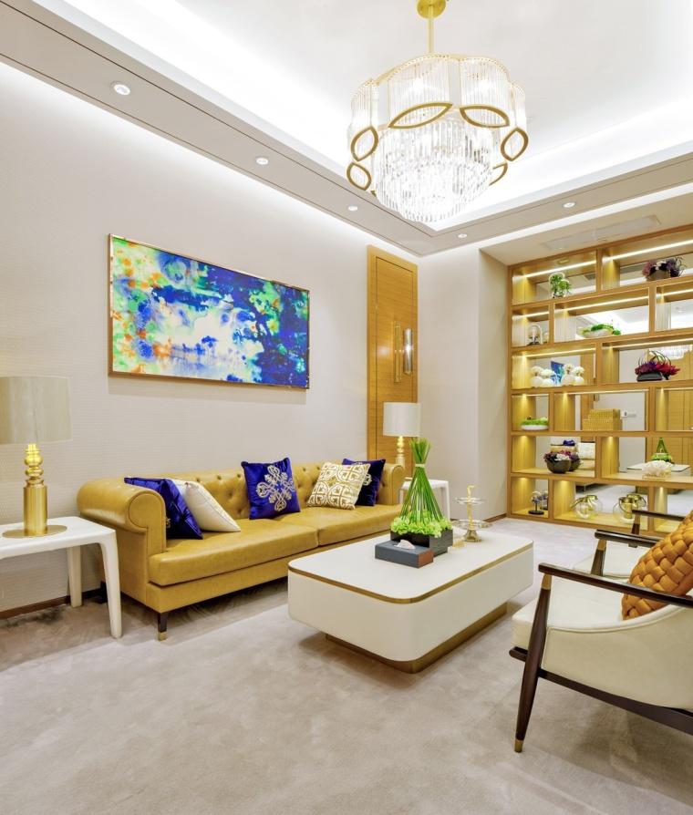 上海龙湖北城天街售楼处室内实景-上海龙湖北城天街售楼处第8张图片