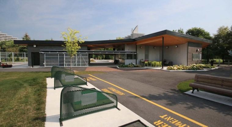 加拿大Maisonneuve公园游客服务中心