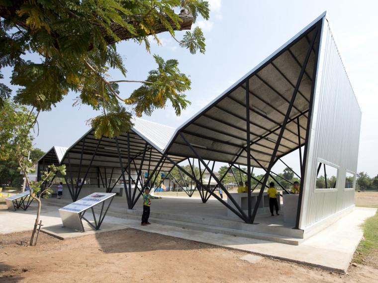 泰国Chonnabot社区学校餐厅改造