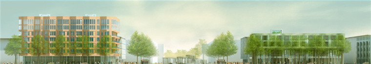 Amster奥林匹克体育公园和广场景-Amster奥林匹克体育公园和广场景观第3张图片