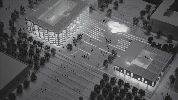 Amster奥林匹克体育公园和广场景-Amster奥林匹克体育公园和广场景观第6张图片