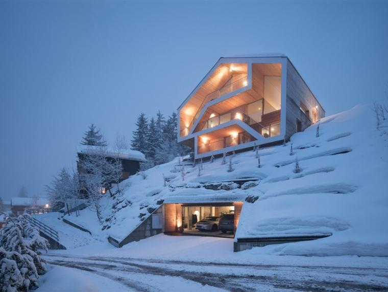 瑞士山区住宅
