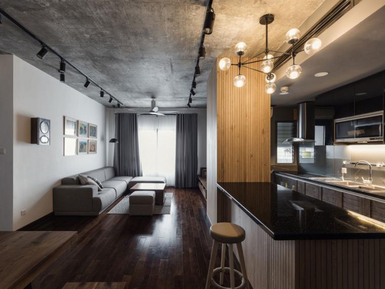 越南河内温馨优雅的ML公寓