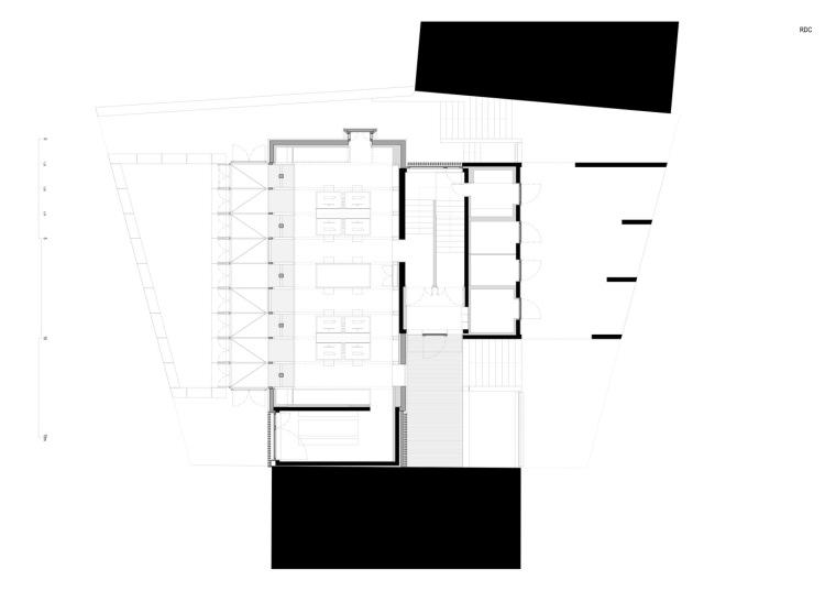 法国勒鲁热综合楼平面图-法国勒鲁热综合楼第29张图片