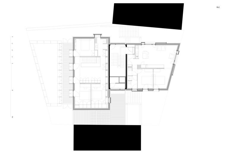 法国勒鲁热综合楼平面图-法国勒鲁热综合楼第28张图片
