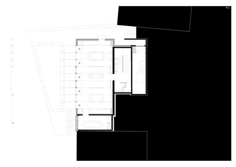 法国勒鲁热综合楼平面图-法国勒鲁热综合楼第30张图片
