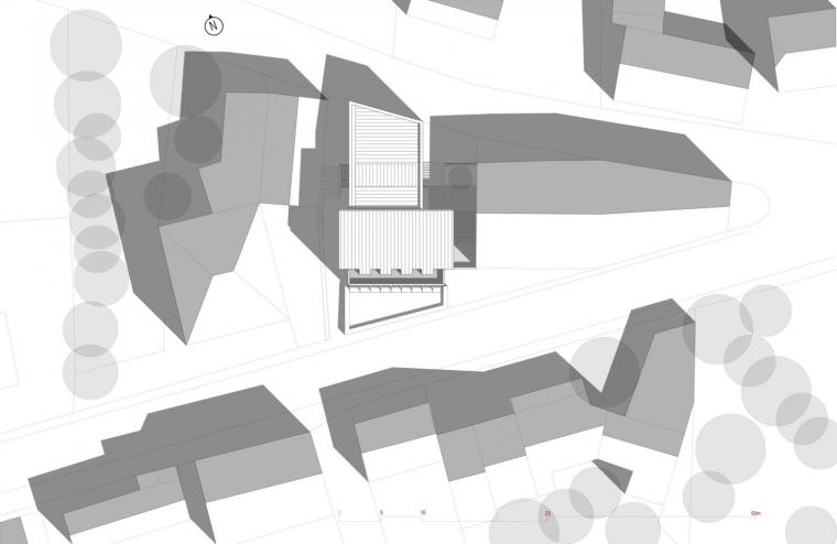 法国勒鲁热综合楼平面图-法国勒鲁热综合楼第35张图片