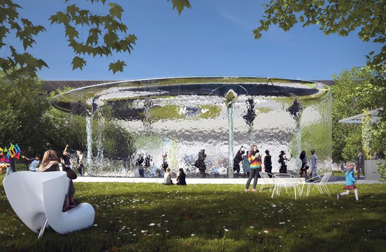 澳大利亚国家美术馆夏季展馆